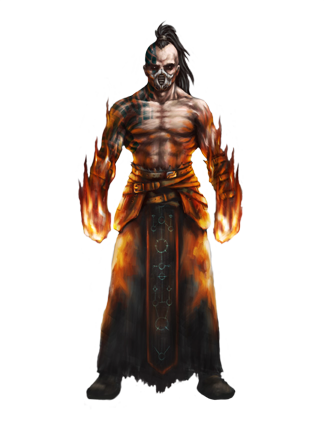 Charakter aus Alpha Omega