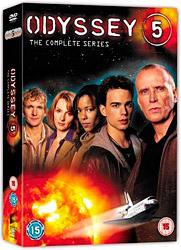 DVD-Box Odyssee 5 (nur englisch erhältlich)