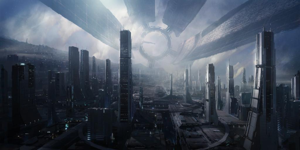 Citadel aus Mass Effect - Concept Art Bioware/Electronic Arts