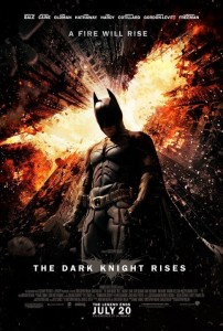 """The Dark Knight Rises""-Plakat (Warner Bros.)"