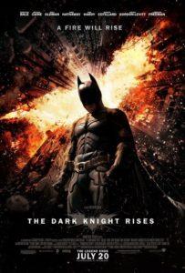 """The Dark Knight Rises""-Plakat (Warner Bros.)"