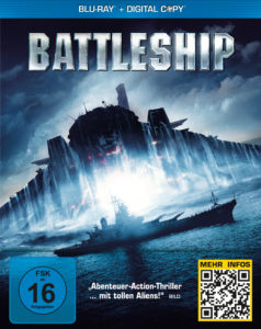 """Battleship"" – Cover Blu-Ray, Universal Pictures Deutschland"