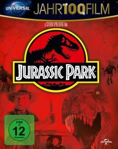 """Jurassic Park"" – Blu-Ray Cover, Universal Pictures Deutschland"