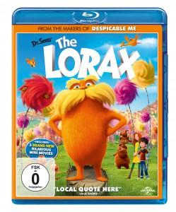 """""""Der Lorax"""" – Blu-Ray Cover, Universal Pictures Deutschland"""