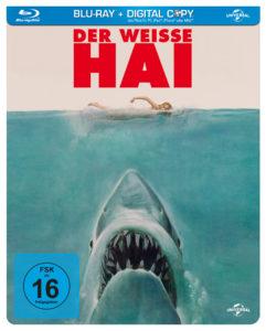 """""""Der weiße Hai"""" – Blu-Ray Cover, Universal Pictures Deutschland"""