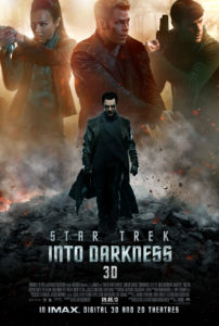 """Zoe Zaldanas Uhura ist zurecht auf dem Poster von """"Star Trek Into Darkness"""" – sie hat diesmal weit mehr zu tun, als nur Klingonisch zu übersetzen"""