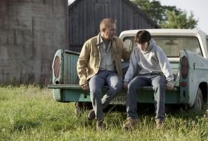 """Szene aus """"Man of Steel"""", in der Jonathan Kent mit seinem Adoptivsohn über Verwundbarkeit spricht. (Warner Bros. Pictures and Legendary Pictures, Warner Bros. Pictures release.)"""