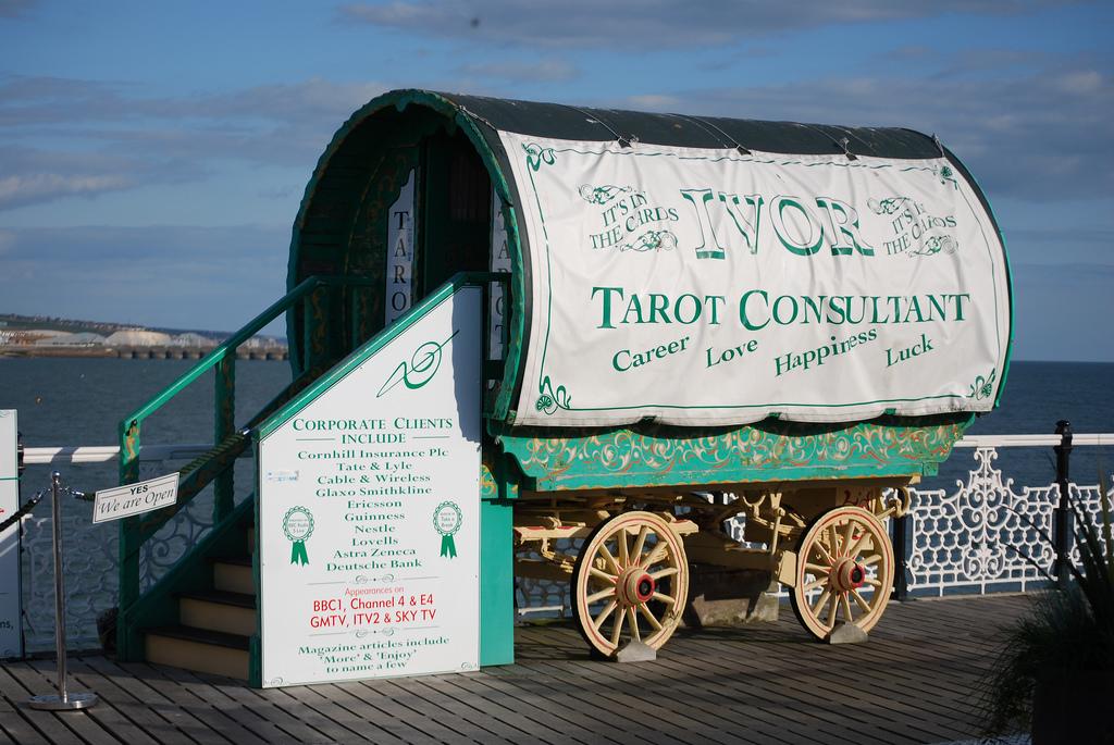 Ein Tarot-Zigeunerwagen (Creative Commons CC-BY by Johnny_boy_A)
