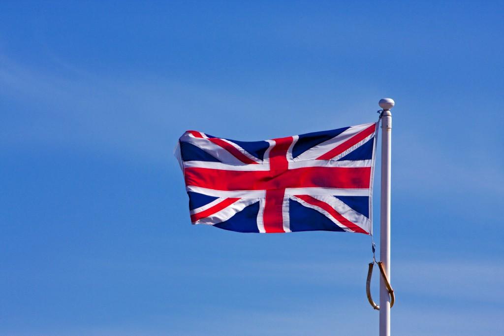 Derzeitige britische Flagge (CC0 Public Domain)