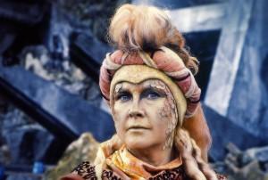 Wanda Ventham als Faroon, eine Lakertianerin, Foto: Pandavision/BBC Germany
