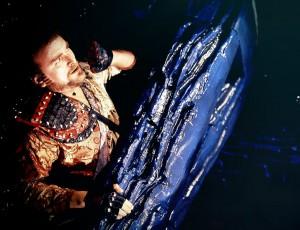 Der intergalaktische Pirat Glitz (Tony Selby). Foto: Pandavision/BBC Germany
