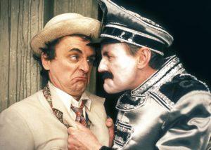 Der Doctor und der Chef  der Hausmeister. Foto: Pandavision/BBC Germany