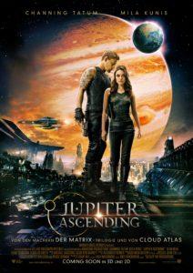 "Das Plakat von ""Jupiter Ascending"" Copyright: © 2015 WARNER BROS. ENT. INC., VILLAGE ROADSHOW FILMS (BVI) LIMITED AND RATPAC-DUNE ENT. LLC"