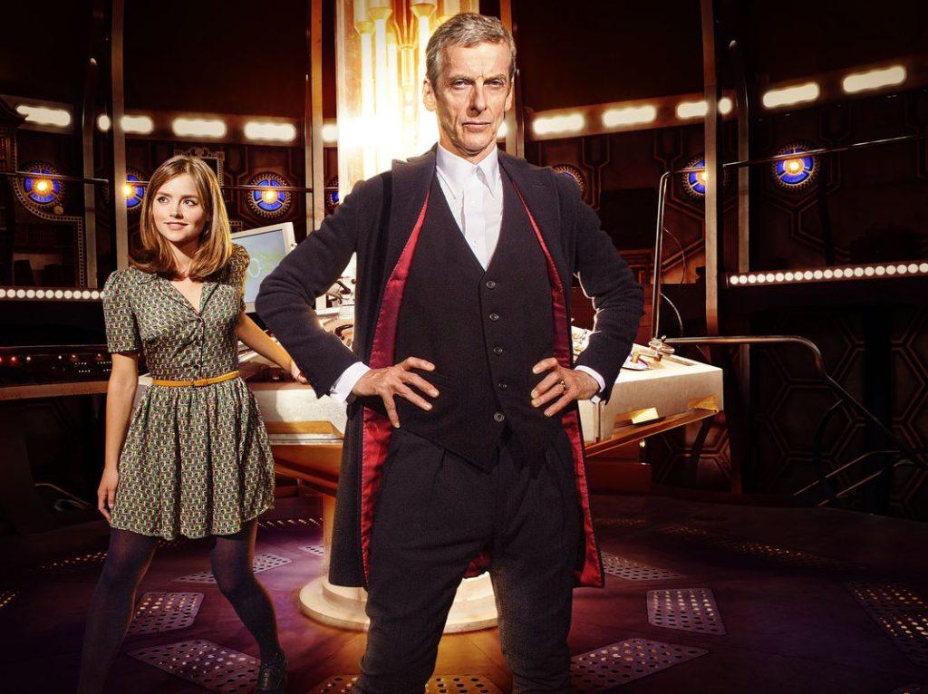 Clara (Jenna Coleman) muss sich erst an den neuen Doktor (Peter Capaldi) gewöhnen. (Foto: Polyband/BBC)