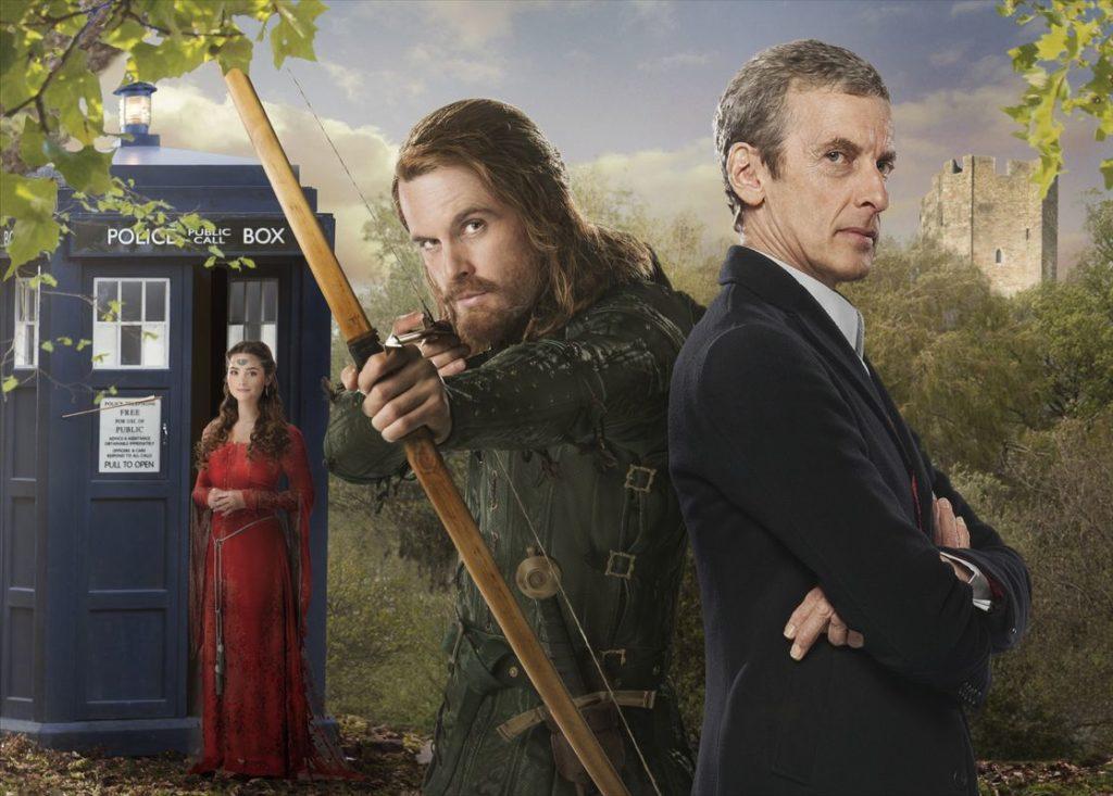 Tom Riley spielt Robin Hood, der ja eigentlich gar nicht existiert, meint jedenfalls der Doctor (Foto: Polyband/BBC)