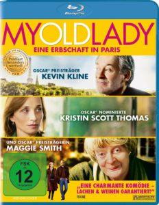 """Das Cover zu """"My Old Lady"""" baut auf die Oscar-Gewinne und -Nominierungen der drei Hauptdarsteller."""