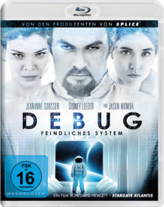 """Cover """"Debug""""-Blu-Ray"""