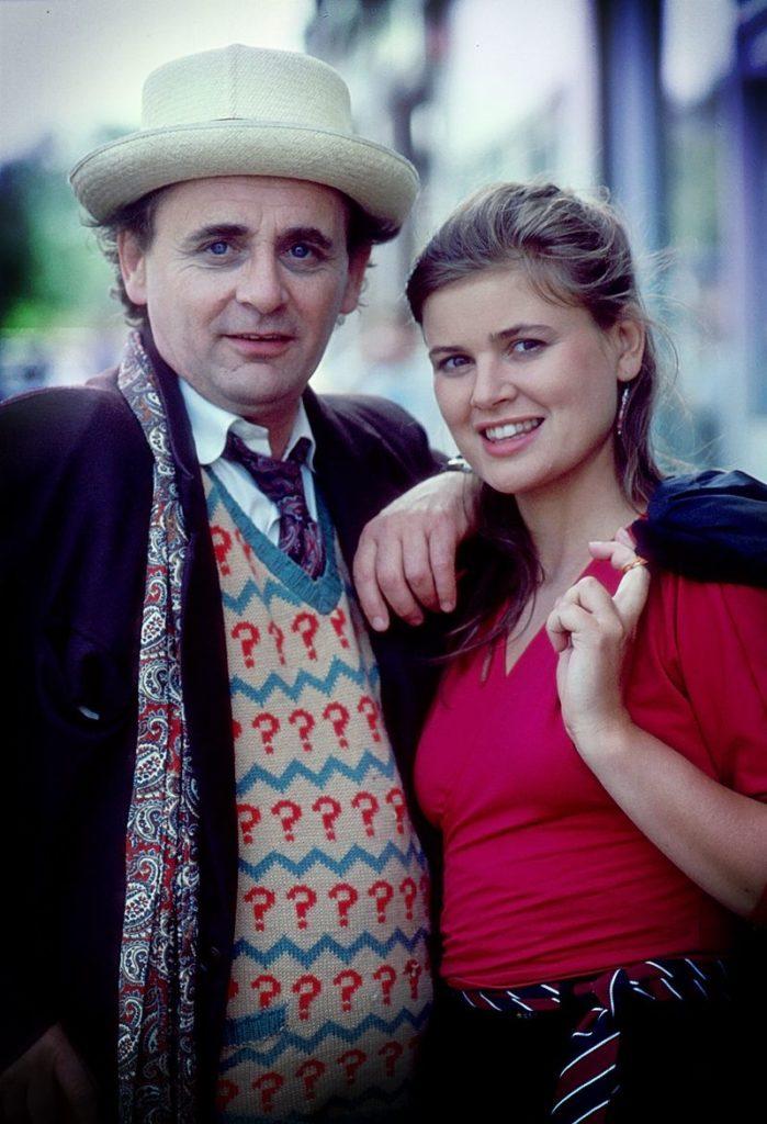 Der siebte Doktor (Sylvester McCoy) und Ace (Sophie Aldred). Ich vermisse Euch schon wieder! (Foto: Pandavision/BBC)