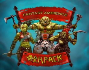Das Cover der CD zeigt passenderweise drei Orks.