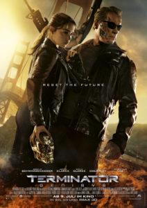 """Sarah Connor und """"Paps"""" auf dem Filmplakat"""