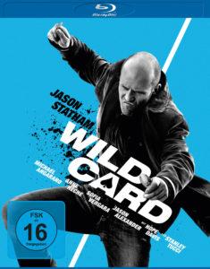 """Das stilisierte Cover von """"Wild Card"""" wurde auch im Blu-Ray-Menü optisch sehr schön fortgesetzt (Universum Film)"""