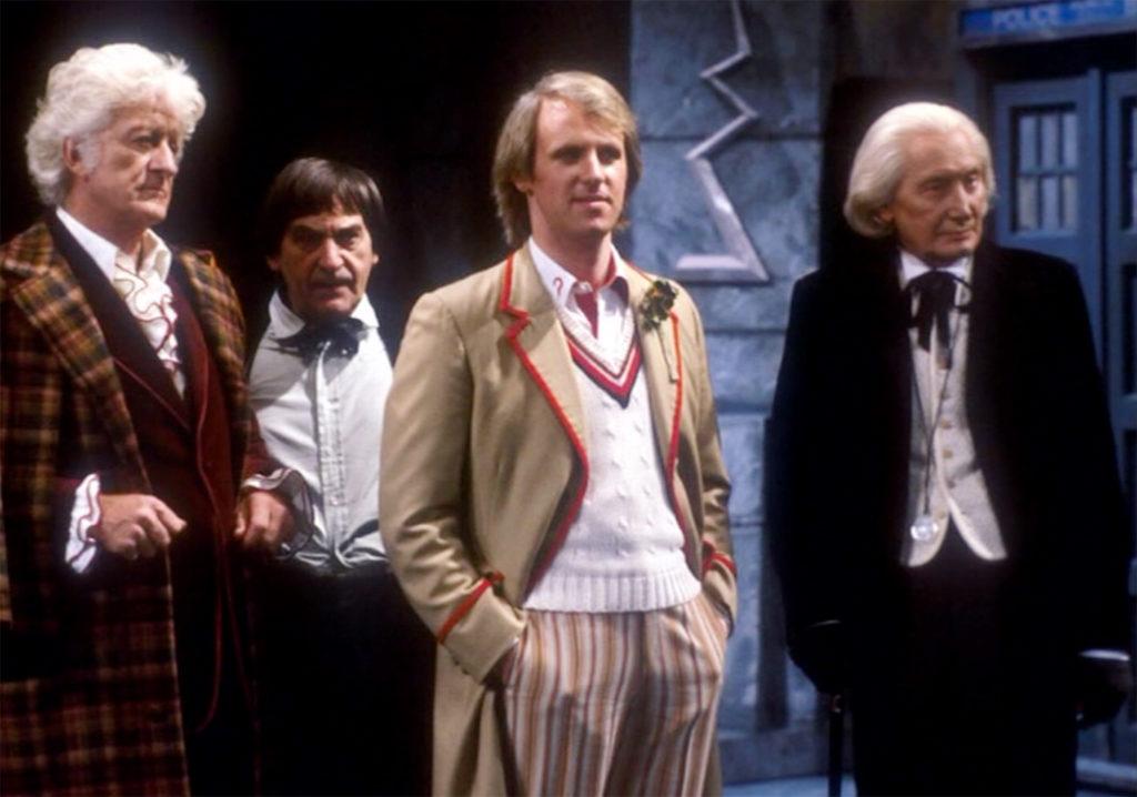 Alle fünf, äh, vier Doctors vereint (Fotos: Pandastorm Pictures)