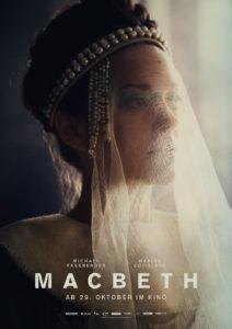 Marion Cotillard als Lady Macbeth (Teaserplakat von Studiocanal)