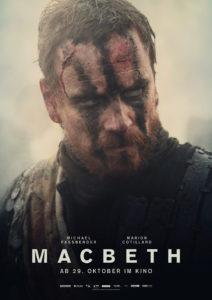 Michael Fassbender als Macbeth (Teaserplakat von Studiocanal)
