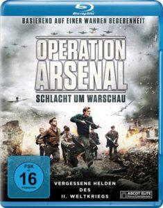 "Blu-Ray-Cover von ""Operation Arsenal"" (Ascot Elite Home Entertainment)"