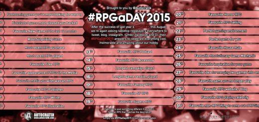 #RPGaDAY2015 – Frage 1 1