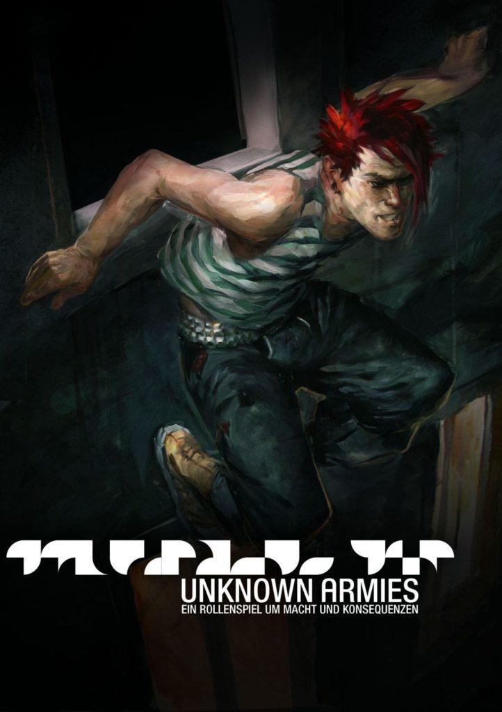 """Das Cover von """"Unknown Armies"""" (2005, Vortex Verlag GbR)"""