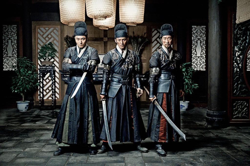 """Die drei Helden sind Assassinen des Kaisers. In der deutschen Synchro allerdings englisch """"Assassins"""" des Kaisers ausgesprochen, warum auch immer (Foto: Pandastorm Pictures)"""