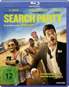 """Blu-ray-Cover """"Search Party"""" (Concorde Home Entertainment)"""