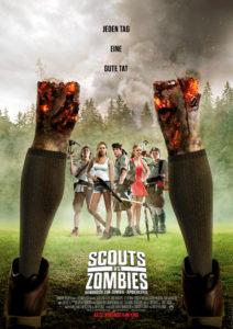 """Das Plakat zu """"Scouts vs. Zombies"""" zeigt ein kreatives Motiv, das im Film eigentlich gar nicht vorkommt. (Foto: Paramount)"""