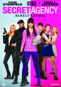 "DVD-Cover von ""Secret Agency – Barely Lethal"" (Ascot Elite Home Entertainment)"