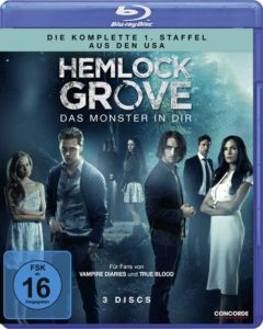 "Blu-ray-Cover ""Hemlock Grove – Die komplette erste Staffel"" (Concorde Home Entertainment)"