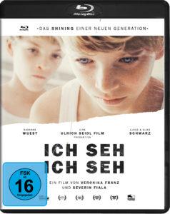 """Die Blu-ray von """"Ich seh, Ich seh"""" hat zumindest in meinem Rezensionsexemplar eine weiße statt schwarze Umhüllung, was aber auch toll aussieht (Foto: Koch Media)"""