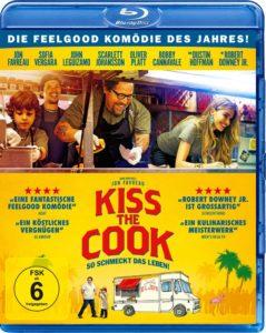 "Blu-Ray-Cover ""Kiss the Cook"" (Koch Media)"