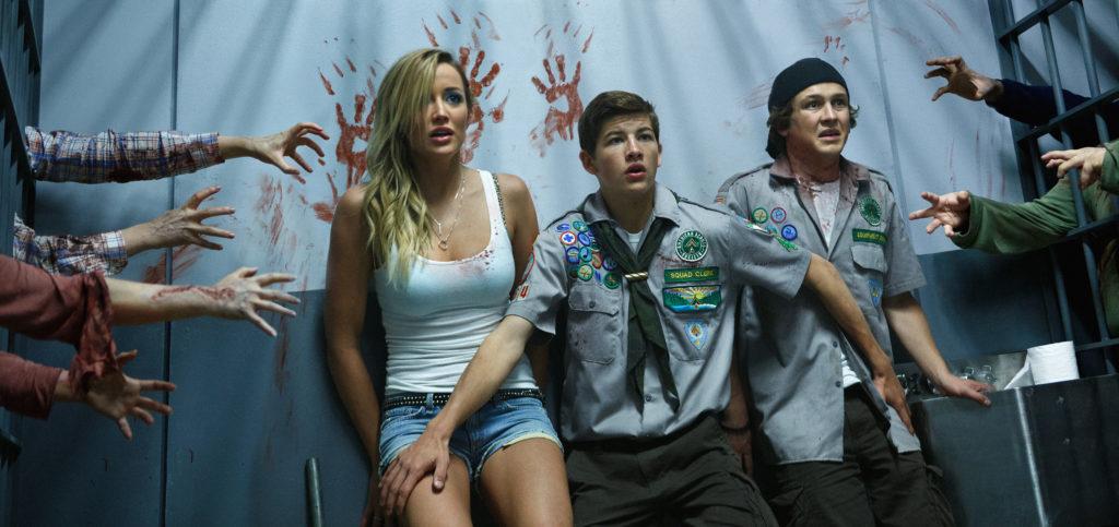 """Eingesperrt zwischen den Zombies (""""Scouts vs. Zombies"""", Foto: Paramount Pictures)"""