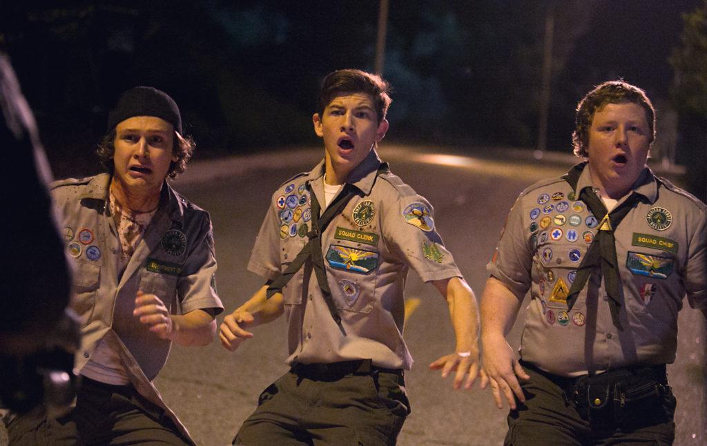 """Die drei Pfadifreunde (""""Scouts vs. Zombies"""", Foto: Paramount Pictures)"""