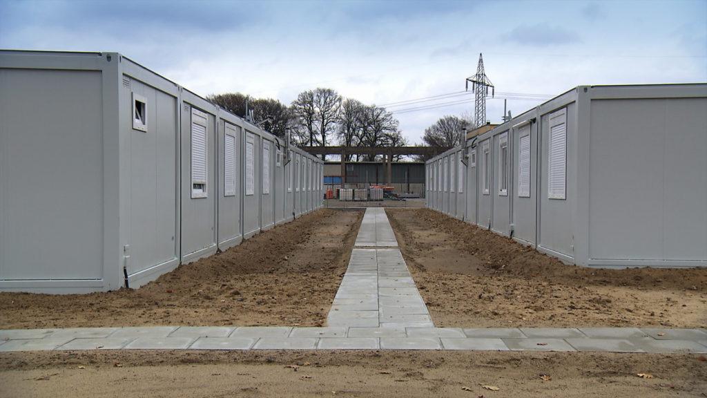 Containerunterkunft in Meckelfeld (Foto: Boris Mahlau © Pier53)