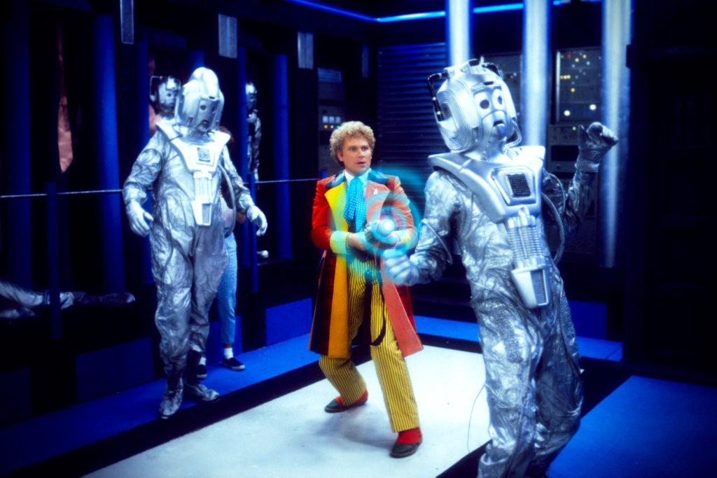 Dieser Doktor verwendet Waffen (Colin Baker, Foto: Pandastorm/BBC)