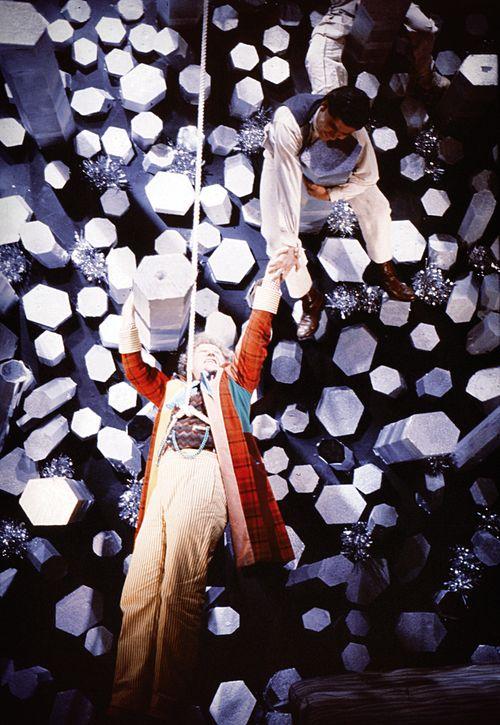 Der Doktor klettert durch die Zeit. Keine Pointe. (Foto: BBC Germany/Pandastorm Pictures)