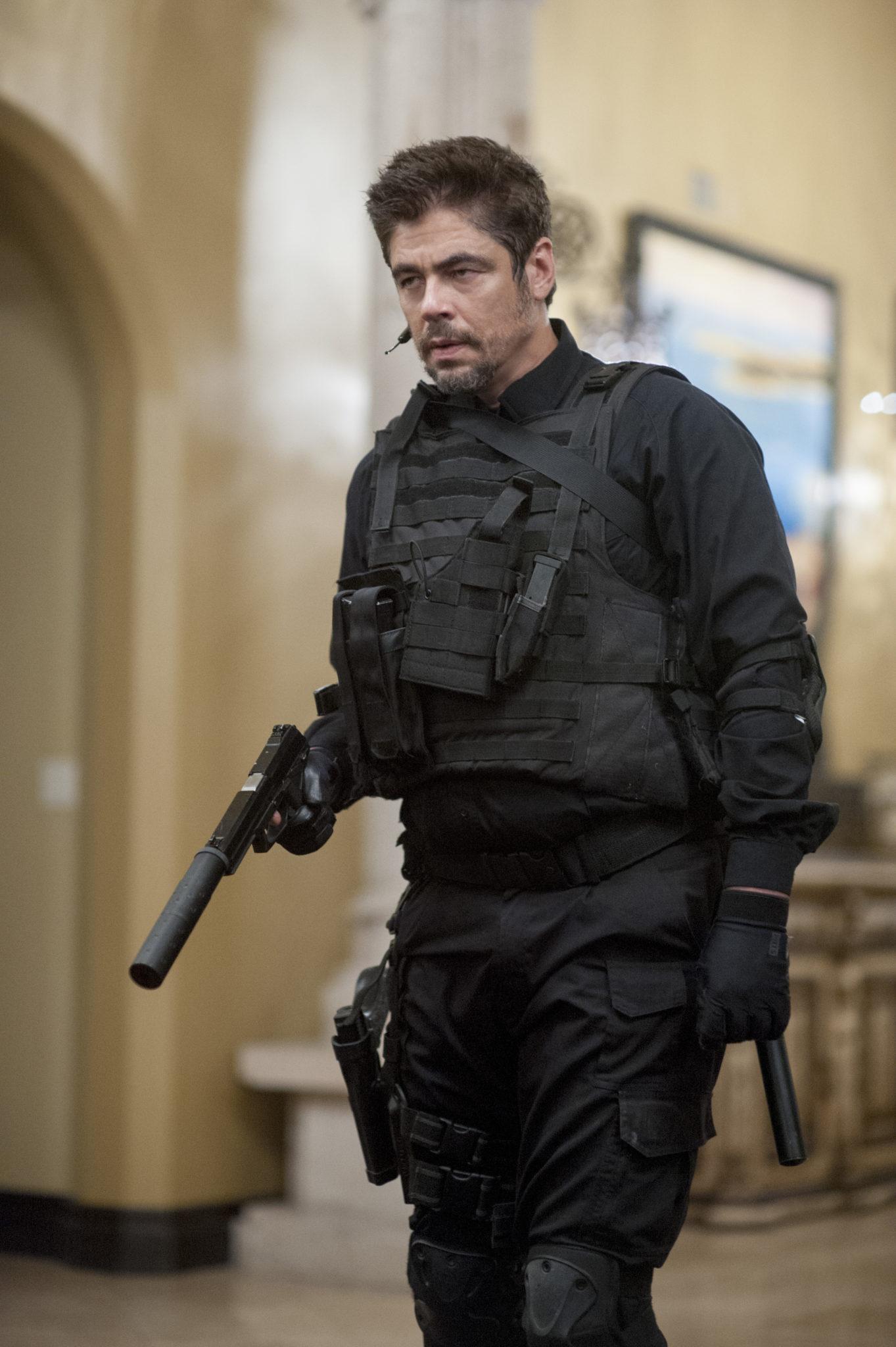 Der mysteriöse Profi Alejandro (Benicio Del Toro, Foto: Studiocanal)