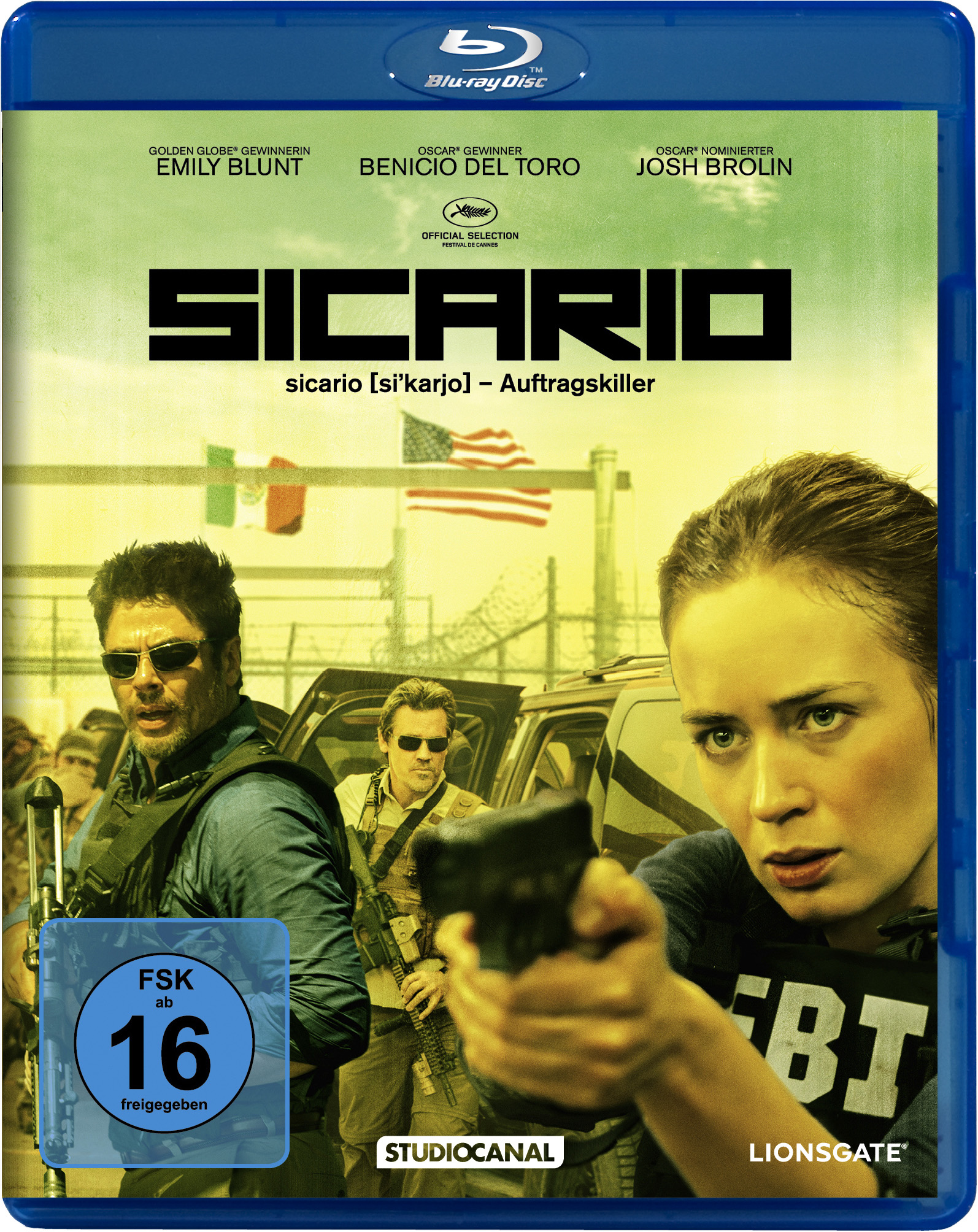 "Blu-ray-Cover ""Sicario"""