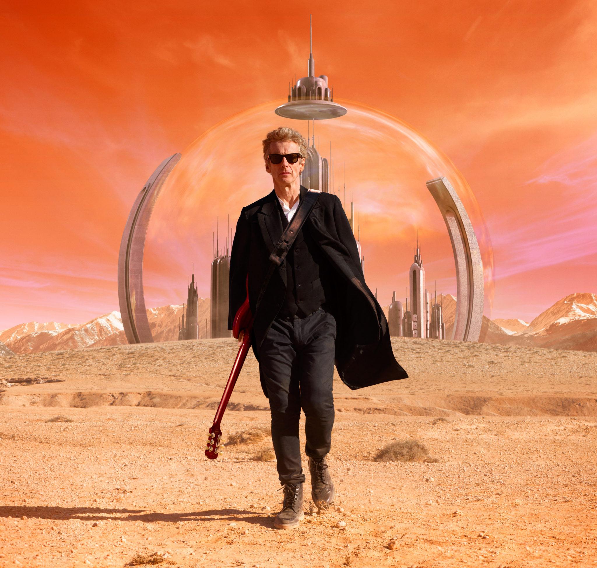 Der Doktor ist zurück auf Galifrey (Peter Capaldi, Foto: Polyband/BBC)