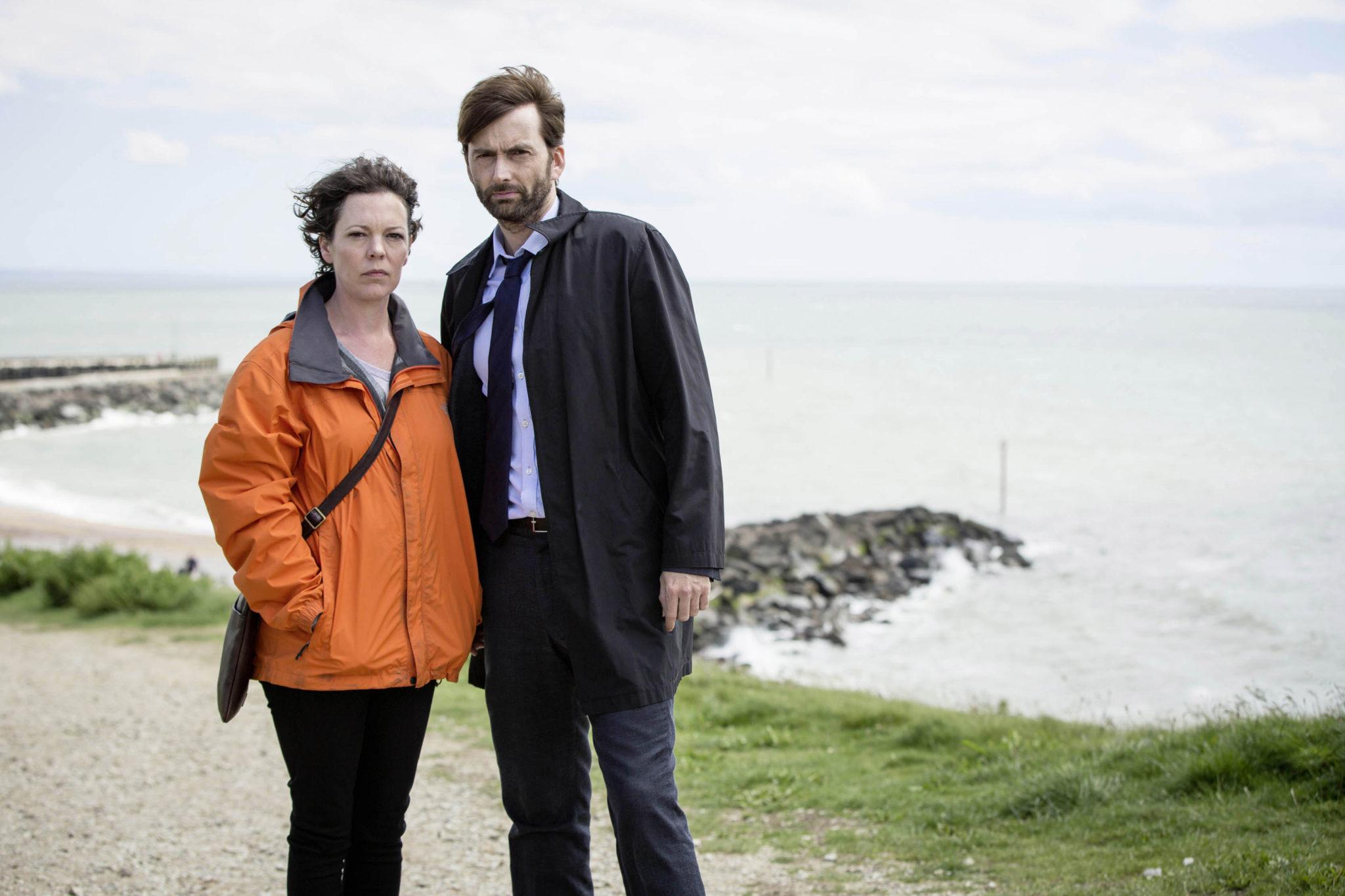 Detective Ellie Miller und Chief Inspector Alec Hardy fürchten, dass ihre Beweise vor Gericht nicht ausreichen (Olivia Coleman und David Tennant, Foto: Studiocanal)
