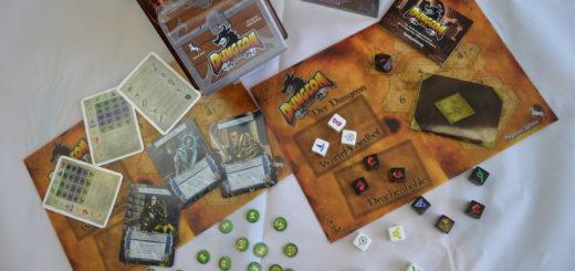 """Mini-Dungeon-Crawl für Zwischendurch: Rezension des Würfelspiels """"Dungeon Roll"""" 1"""