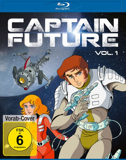 Cover der Captain Future Vol. 1 Blu-ray