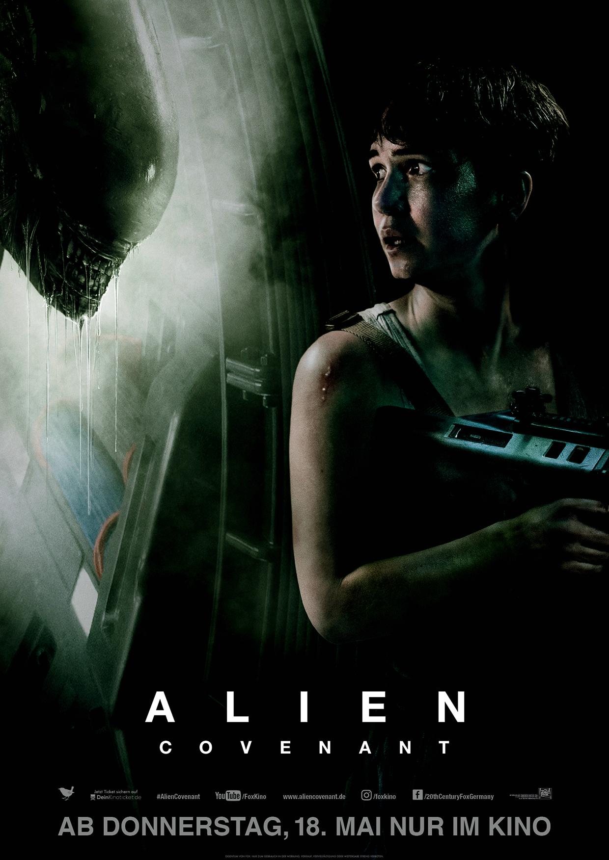 """Nichts gelernt aus Prometheus – Kritik: """"Alien: Covenant"""" 5"""